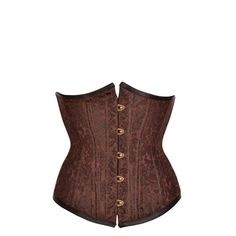 Black and Coffee Waist Training Underbust