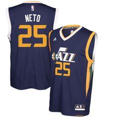 Raul Neto Utah Jazz adidas Replica Road Jersey - Navy