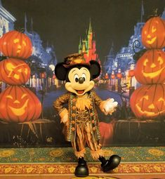Mickey's ready for the Not So Scary Halloween Party!