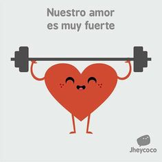 Our love is very strong- Nuestro amor es muy fuerte Our love is very strong - New Memes, Funny Memes, Humor Cristiano, Spanish Lesson Plans, Spanish Phrases, Crush Humor, Sayings And Phrases, Memes In Real Life, Mr Wonderful