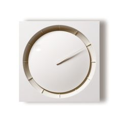 Lemnos HOLA Minimalist Clock by Kazuo Kawasak