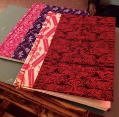 Learned Japanese style stab binding to bind some Potlatch programs