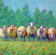 The Flock by Betsy McLellan
