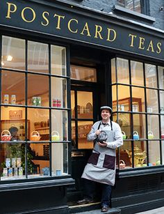 Postcard teas in London
