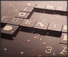 Designer Scrabble  #scrabble