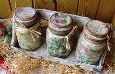 """Кухня ручной работы. Ярмарка Мастеров - ручная работа Банки для чая, кофе, трав """"Пряные травы"""". Handmade."""