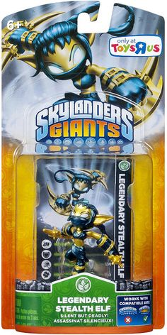 Skylander's Giants Legendary Stealth Elf