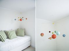scored this solar system mobile for off this weekend. SO EXCITED to hang it in our nursery. Solar System Mobile, Spearmint Baby, Boy Mobile, Nursery Bunting, Baby Boy Rooms, Kids Rooms, Baby Room, Nursery Neutral, Room Themes