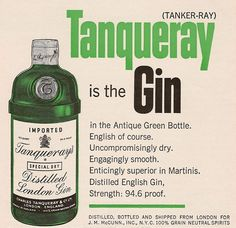 Tanqueray Gin - Gin Foundry