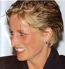 Princess Diana- She was rained on at an outside concert and still looks Beautiful