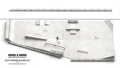 Govi Forever skateplaza : HANSEL & HANSEL | architecture agency Architecture, Projects, Landscape Architecture, Arquitetura, Log Projects, Blue Prints, Architecture Design