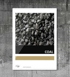 #coal #natural #poster