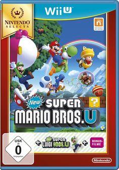 New Super Mario Bros. U + New Super Luigi U - Nintendo Selects - [Wii U]: Nintendo Wii U: Nintendo: Amazon.de: Games