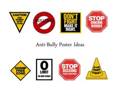 Anti-Bullying Poster directions