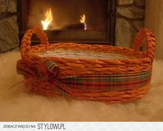 eco wicker basket
