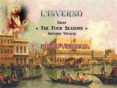Vivaldi-S.Cara - The Four Seasons - Inverno - Piano version