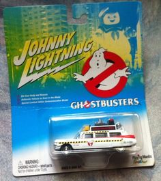 Johnny Lightning 2003 1:64 Scale GHOSTBUSTERS ECTO 1 A 59 Cadillac Diecast Vehicle. Special Limited  @ niftywarehouse.com #NiftyWarehouse #Nerd #Geek #Entertainment #TV #Products