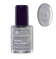 Yves Rocher Nail Polish - Sparkling Silver - http://47beauty.com/nails/index.php/2016/09/27/yves-rocher-nail-polish-sparkling-silver/ Yves Rocher Nail Polish – Sparkling Silver  Say yes to the Winter 2014 trend with this new Nail Polish that offers immediate shimmering effect! Practical, its formula dries quickly and is easy to apply. Result: one coat is all it takes to create a fabulous effect. The Plus: a practical small format to bring everywhere. 0.10 fl.oz. / 3 ml