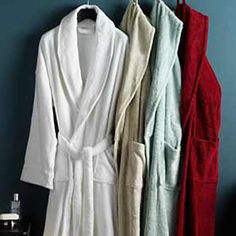 #TajmaHome                #Home #Bath               #purposes #absorbent #robes #terry #ideal #robe #loops #loop #plush #extra #soft                        Plush Soft Terry Robe     These plush soft terry loop robes are extra absorbent, featuring terry loops to dry you quickly. Ideal robe for all purposes!     http://pin.seapai.com/TajmaHome/Home/Bath/1687/buy