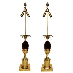 Pair of Maison Charles Table Lamps 1