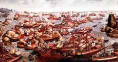 Ottoman Empire Defeated at the Battle of Lepanto