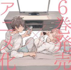 Ten Count get an anime Manhwa, Anime Boys, 10 Count Manga, Manga Art, Manga Anime, Ten Count, Takarai Rihito, Cartoon Boy, Online Anime
