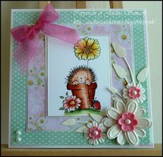 BearlyMine Design papers.. Penny Black stamp