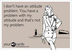 ❥ attitude problem? lol