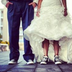 I WILL be wearing converse on my wedding day.