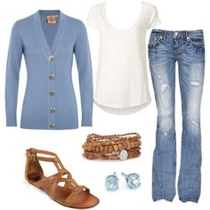 """""""Last Days of Summer outfit"""" by natihasi on Polyvore"""