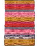 RugStudio presents Dash And Albert Gypsy Stripe Flat-Woven Area Rug