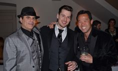 "Paolo, Damon, and Michael Lee from the ""Come Fly With Me"" CinSation gala"