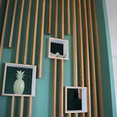 Home Room Design, Interior Design Living Room, Interior Decorating, House Design, Wall Decor Design, Ceiling Design, Wood Wall Decor, House Rooms, Home Deco