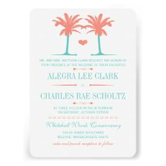 Coral and Turquoise Beach Typography Invite ReviewHere a great deal...