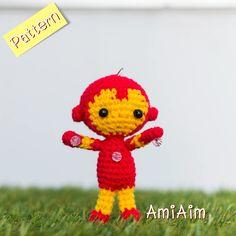 Amigurumi Pattern : Iron Man by AmiAim on Etsy