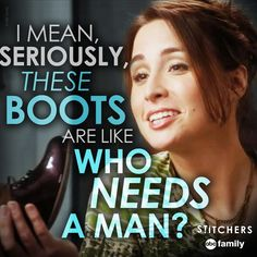 "S1 Ep7 ""The Root of All Evil"" - Good question... LOL! #Stitchers"