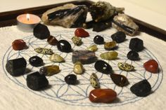 Creating a Crystal Grid for Protection