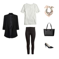 French Minimalist Capsule Wardrobe Spring 2017 - outfit #11