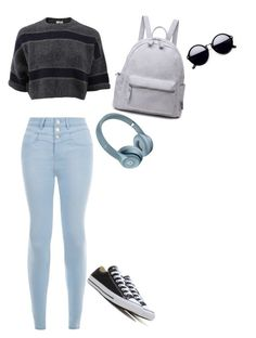 """""""Untitled #95"""" by darkenedroses on Polyvore featuring Brunello Cucinelli, New Look and Converse"""