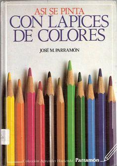 ASI SE PINTA CON LAPICES DE COLORES, libro para descarga gratuita