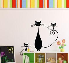 Kočka a koťátka