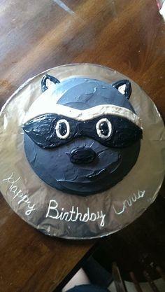 Raccoon cake