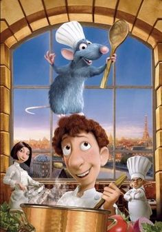 Ratatouille (2007) movie #poster, #tshirt, #mousepad, #movieposters2