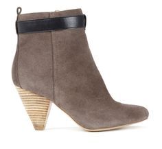 suade boots with heel