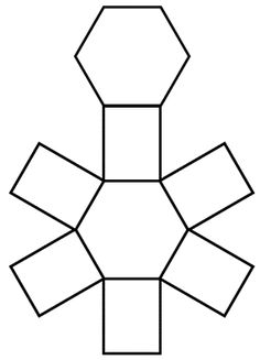 ... Education: MATH: Nets on Pinterest | Geometry, 3d shapes and The net