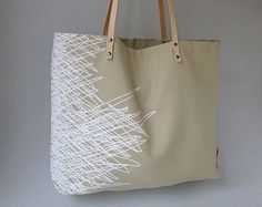 """Shop """"leather handles"""" in Market Bags"""