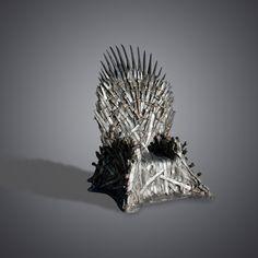 Coole stoel, uit Game of Thrones. Hebben en voor de buis zetten!