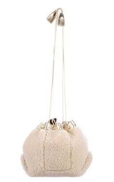 Shearling Bucket Bag | #BucketBag | #Bag | Leather Interior, Bucket Bag, Dust Bag, Handbags, Women, Fashion, Moda, Totes, Fashion Styles