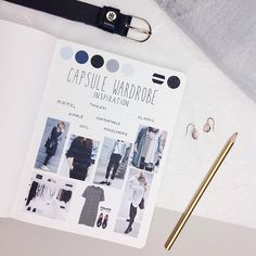 """449 Likes, 10 Comments - Maren Janka (@pureplanning_bymj) on Instagram: """"Here it is: The inspiration page for my Capsule Wardrobe. I first saw this concept of a more…"""""""