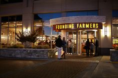 Founding Farmers, a restaurant in Washington DC, serves up delicious food from local farmers - and they're gluten-free friendly!